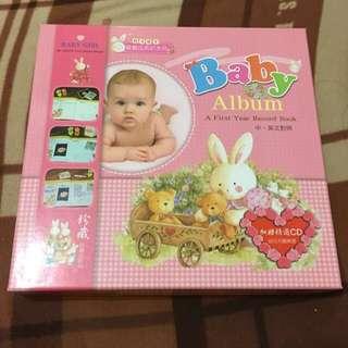 寶寶成長紀念冊(Baby Album)