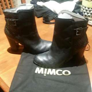 Mimco Leather Boots