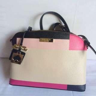 Kate Spade粉色桃色斜背/側背包