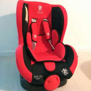 Baby Car Seat  Adjustable As Per Photograph