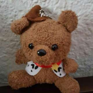 dress up bear keychain