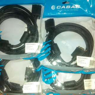 Svga Monitor Extension Cable Full 15pin Male Female 3 Meter
