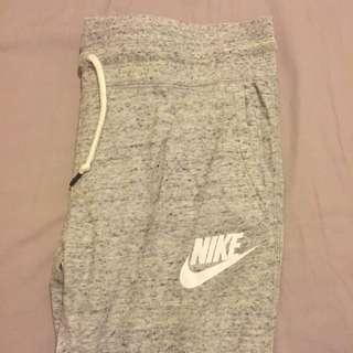 Nike灰色棉褲 M號女