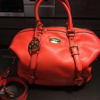 🚚 Michael✨MC 橘紅 手提側背包