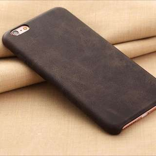 New luxury Leather Back Cover Case For iPhone 6/6s or 6/6s PLUS