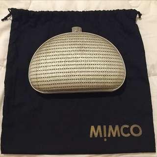 Mimco Gold Clutch