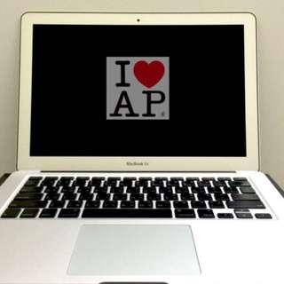 MacBook Air 13吋保固內