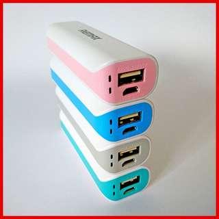** HOT ** 2600mAh MINI POWER BANK - PORTABLE USB PHONE BATTERY CHARGER!
