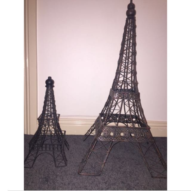 $30 FOR THE TWO EIFFEL TOWERS