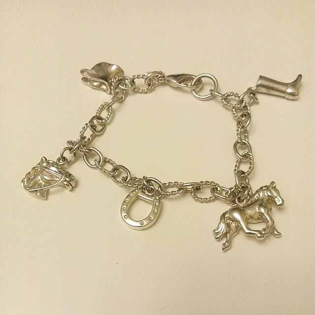 馬系列銀飾手鏈