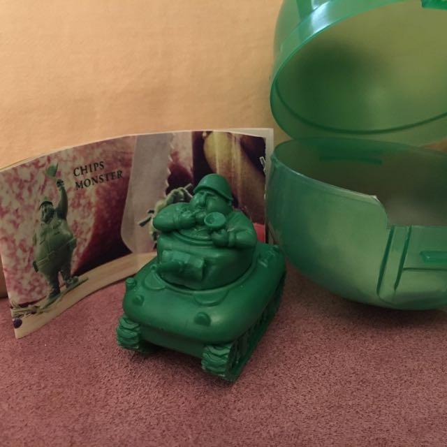 熊貓之穴/二代綠色胖大兵❤️