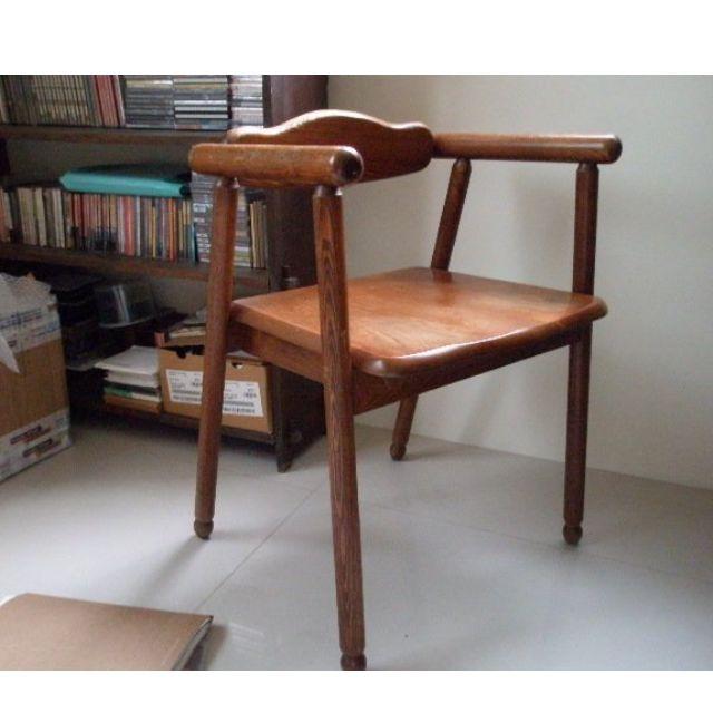 [老件] 北歐 丹麥 椅子 單椅 餐椅 貼皮 wegner juhl kjaerholm jacobsen hans