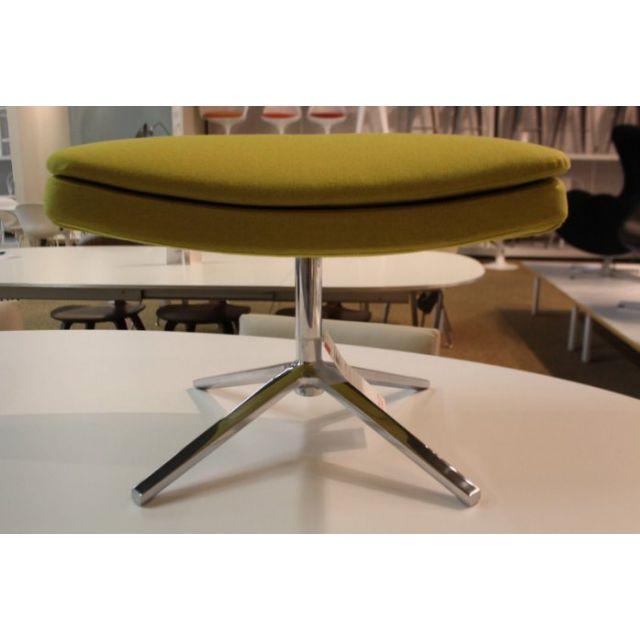 [保證真品] B&B Italia Metropolitan 義大利 腳凳 蕁麻黃色 鐵灰色 毛布料