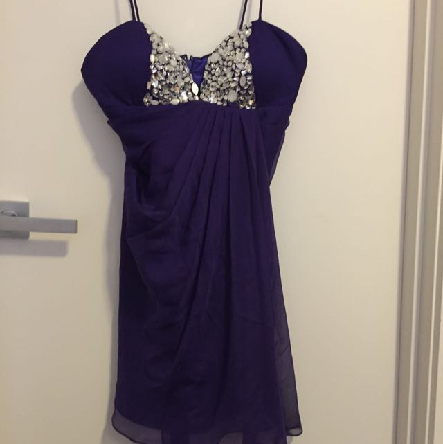 Bariano Purple Dress