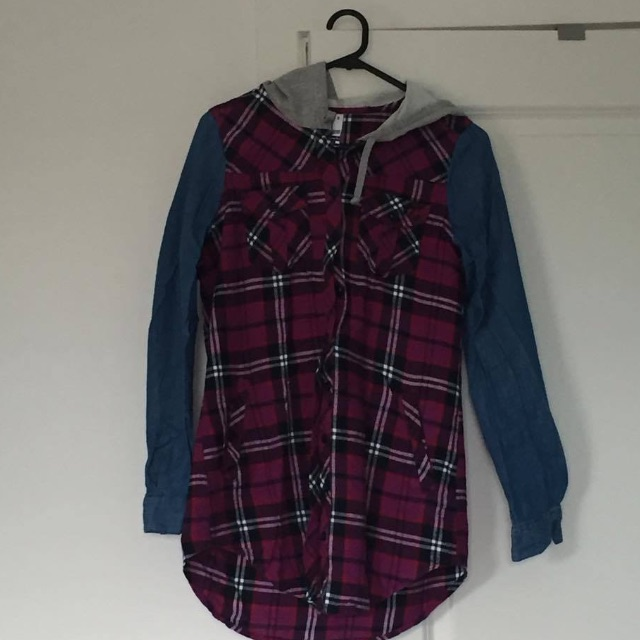 Checked shirt/ jacket