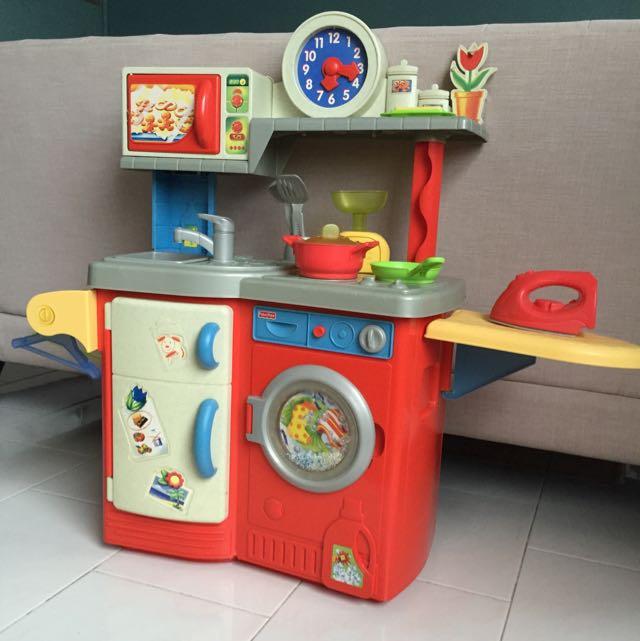 Fisher Price Kitchen Set Babies Kids On Carousell