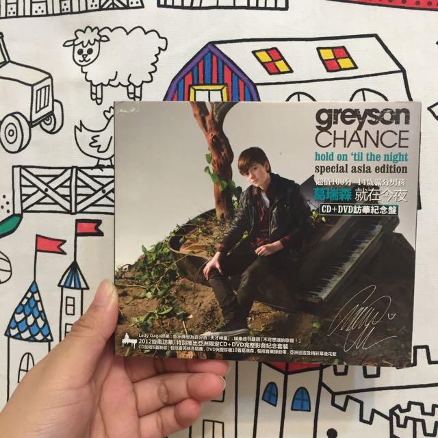 葛瑞森Greyson Chance
