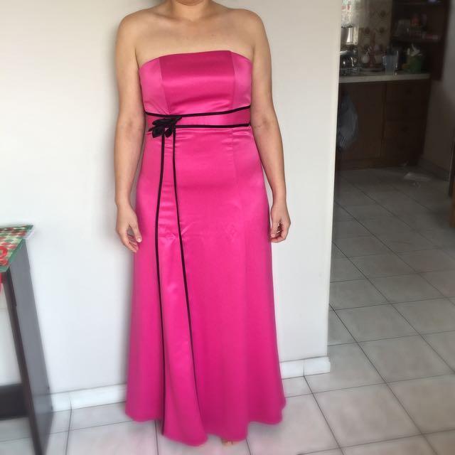 Hot Pink Formal Dress