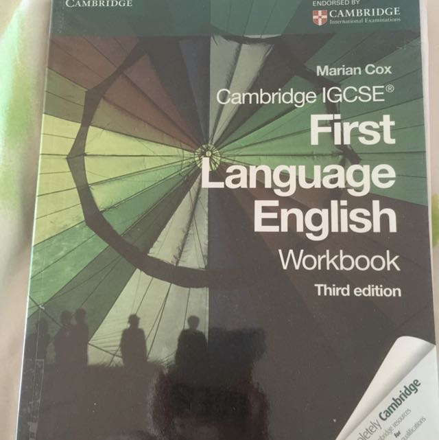 IGCSE first Language English