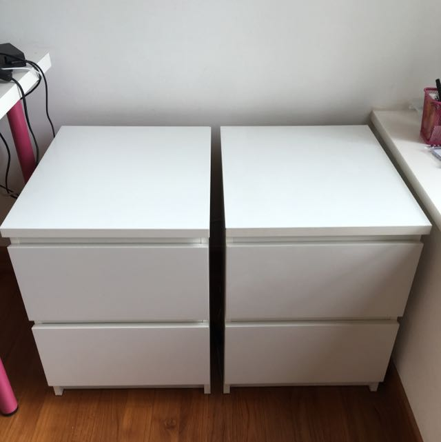 IKEA Chest Of 2 Drawers (2 Pieces)