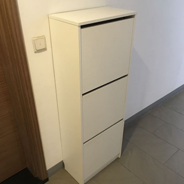 IKEA Shoe Cabinet With 3 Compartments