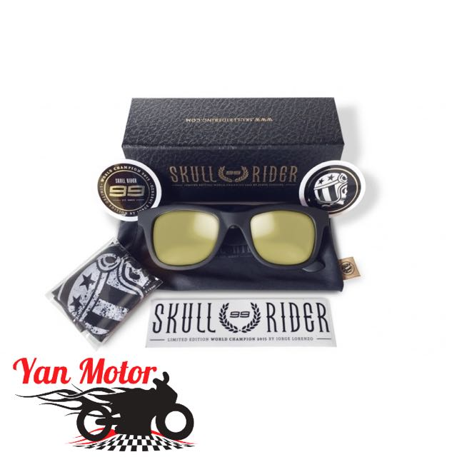 fe967cd1d2 Jorge Lorenzo Skull Rider Limited Edition UV400 Sunglasses