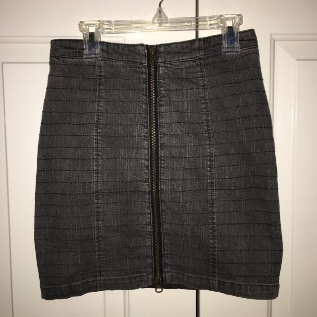 Kenji Denim Skirt