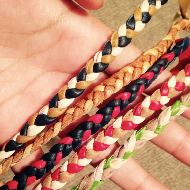 Leather Handmade Bracelets From Bali
