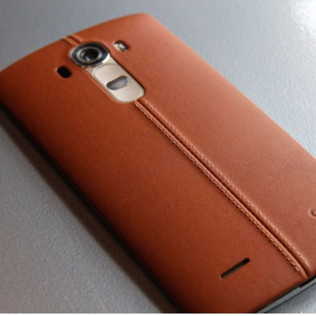 cheap for discount c106f da8f2 LG G4 (used) Brown Leather cover with foldable cover and spare battery +  charge kit