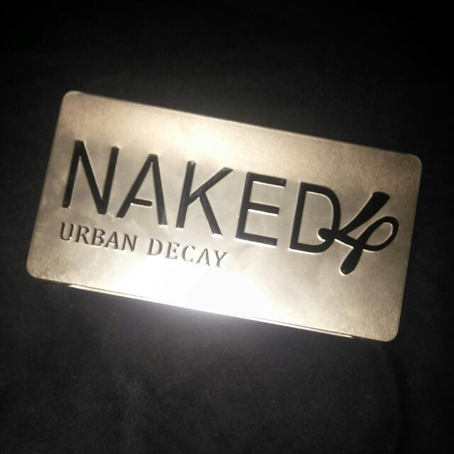 NAKED 4 EYESHADOW PALLET On Hold
