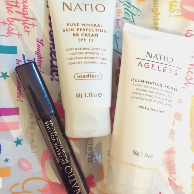 New Natio Mascara, With Primer And BB Cream