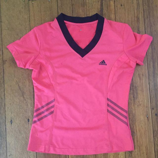 Pink Adidas Sport Top