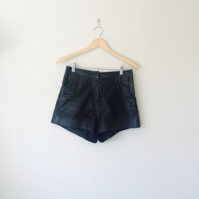 Pleather Shorts Size 10