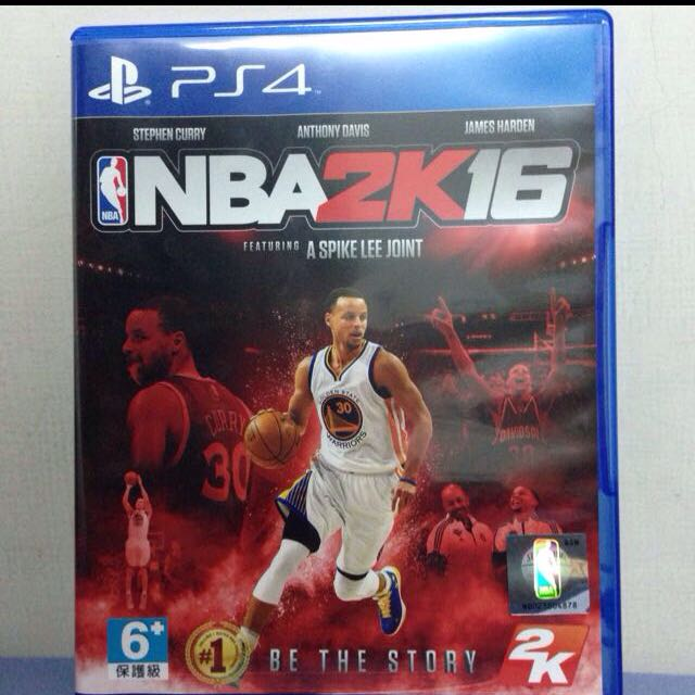 PS4二手 NBA2k16 中文版(含運)