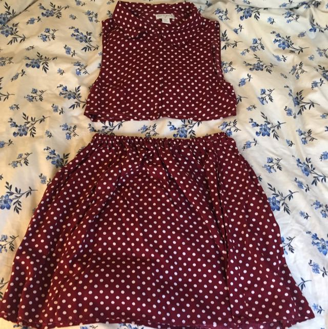Remade Cotton On 2 Piece. Size S