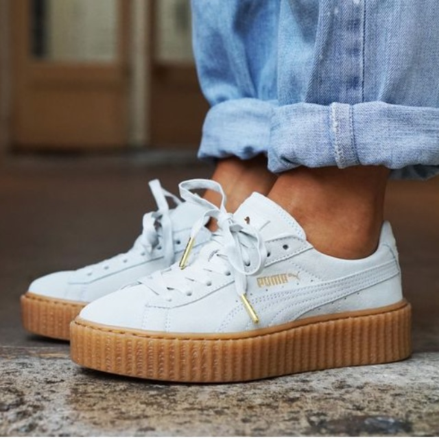 the best attitude 472cc 994e0 creepers white puma