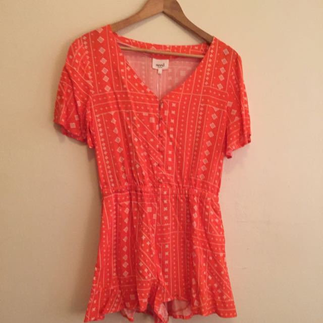 Seed Playsuit. Size 12
