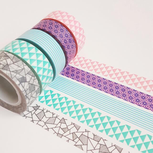 Set of 5 Mix n Match Washi Tape Combo