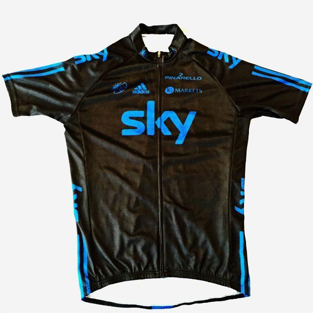 Size  XL - 2012 Adidas Sky Team Replica Cycling Jersey (Like New ... 7fc82873d