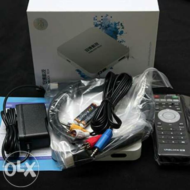 RESERVED) UNBLOCK Tech MEDIA TV BOX UBTV Gen2 Enhanced