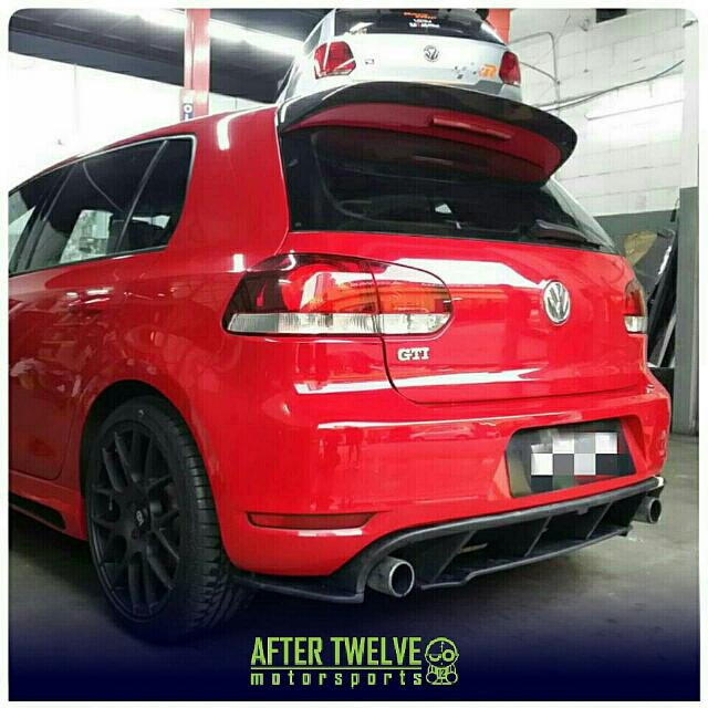 vw golf mk6 revo diffuser spoiler kereta di carousell. Black Bedroom Furniture Sets. Home Design Ideas