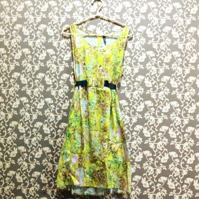 Yellow Flower Dress
