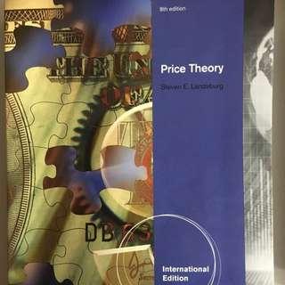 Price Theory 個體經濟學原文書