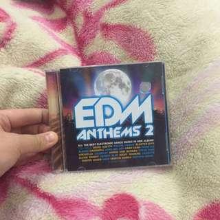 CD Album EDM ANTHEMS 2
