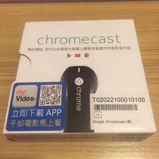 chromecast 電視棒TV