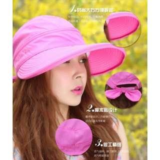 🎈🍯(現貨)戶外機能可調式兩用 遮陽帽