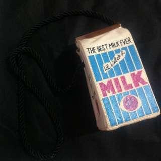Milk Box Sling Bag