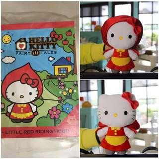 麥當勞Kitty-小紅帽娃娃