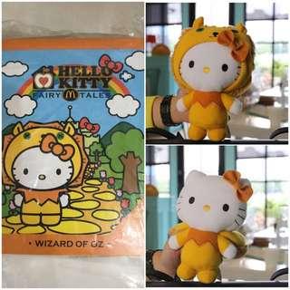 麥當勞Kitty-小獅子娃娃