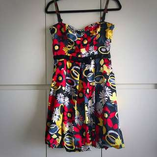 Tailor Made Silk Party Dress